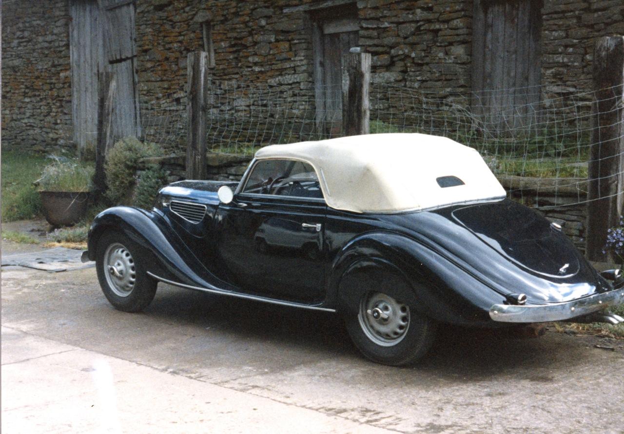 1939 bmw 327 328 bmw historic motor club. Black Bedroom Furniture Sets. Home Design Ideas