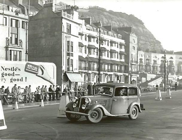1955 MCC National Rally. Photo. FPK 247, Driving Tests 2