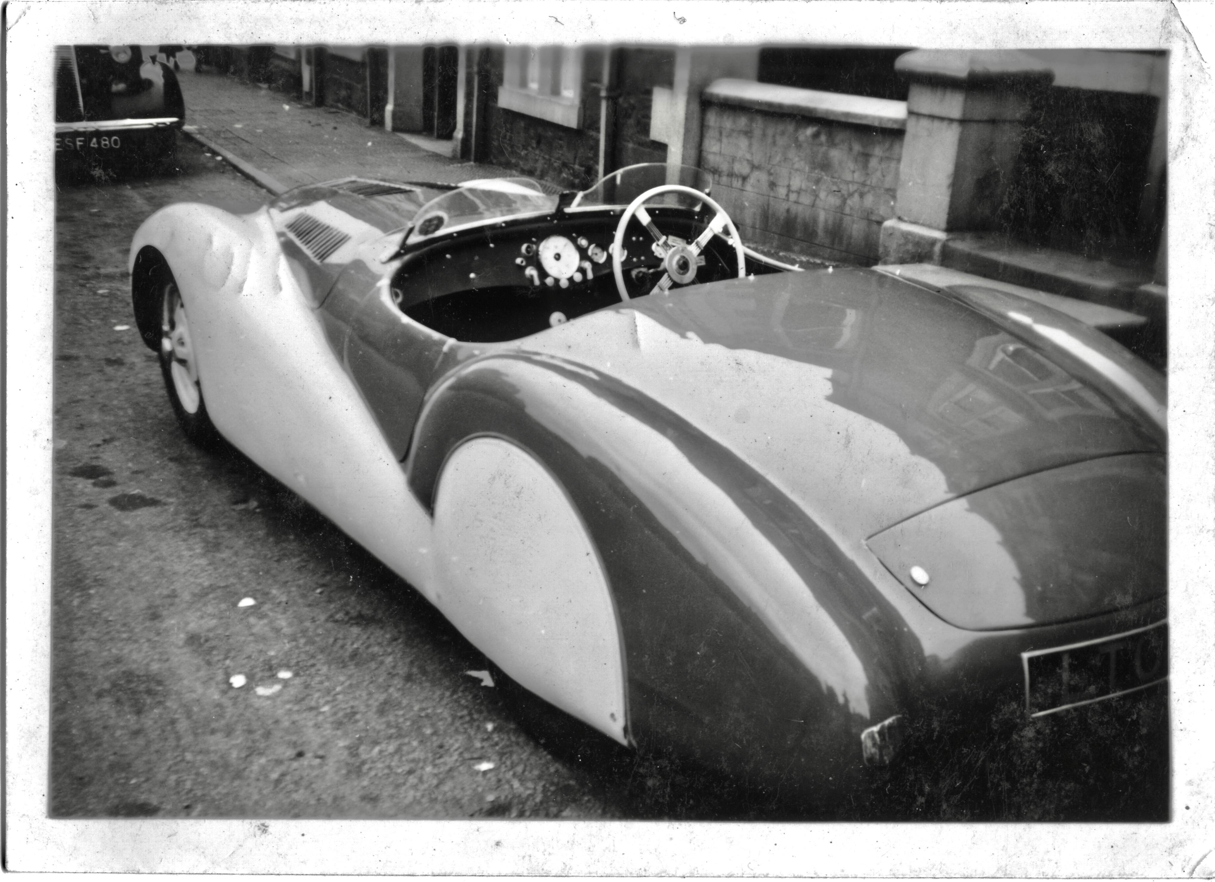 LTC 9 .BMW Mille Miglia. believed Liverpool 1940s. Gillie Tyrer. REAR PHOTO 2